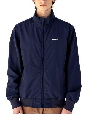 BASEHIT Ανδρικό μπλέ μπουφάν 201.BM10.36 RP NAVY BLUE