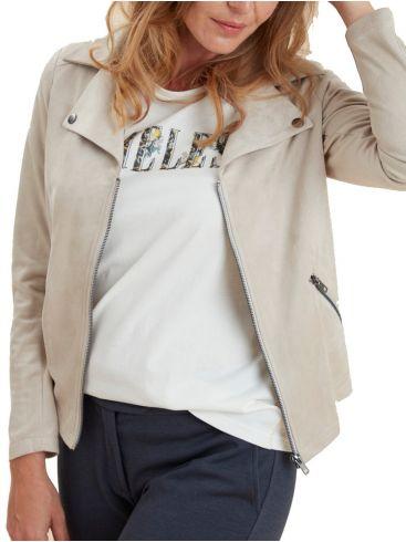 FRANSA Γυναικείο κοντομάνικο λευκό μπλουζάκι. 20608803