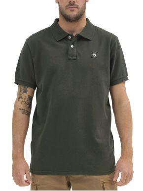 EMERSON Ανδρική κοντομάνικη πικέ πόλο μπλούζα 211.EM35.69GD Forest