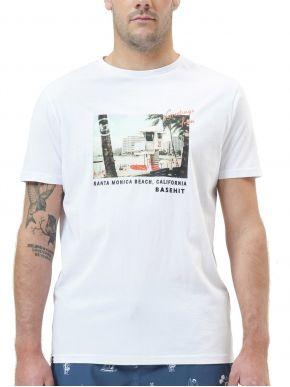 More about BASEHIT Ανδρικό λευκό T-Shirt. 211.BM33.33 White