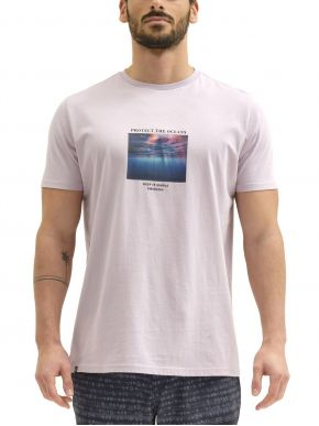 More about EMERSON Ανδρικό ρόζ T-Shirt 211.EM33.69 COOL PINK