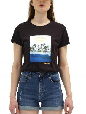 More about EMERSON Γυναικείο μαύρο T-Shirt 211.EW33.84 BLACK