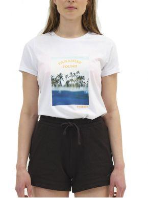 EMERSON Γυναικείο λευκό T-Shirt 211.EW33.84 WHITE
