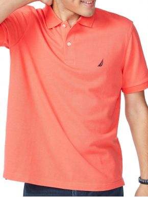 NAUTICA Ανδρικό κοραλί κοντομάνικο μπλουζάκι πόλο πικέ K15000 8GA CORALGHTR