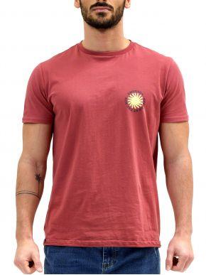 EMERSON Ανδρικό T-Shirt 211.EM33.24 DUSTY CRANBERRY