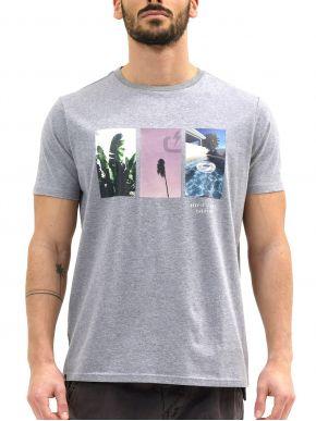 EMERSON Ανδρικό γκρί T-Shirt 211.EM33.34_DARK GREY ML