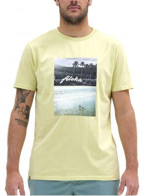 EMERSON Ανδρική κίτρινη T-Shirt 211.EM33.43 LIME