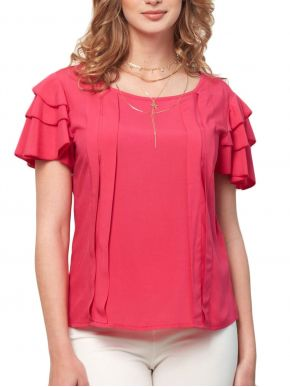 ANNA RAXEVSKY Γυναικεία φούξια μπλούζα B21124 FUXIA