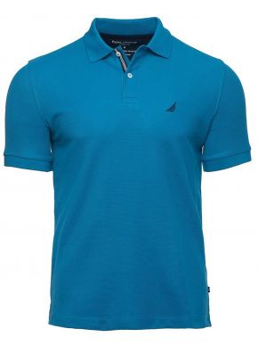 NAUTICA Ανδρικό κοντομάνικο μπλουζάκι πόλο πικέ, Κ15000 4RT Rich Teal.