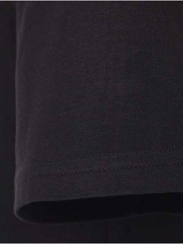REDMOND Ανδρικό μαύρο κοντομάνικο T-Shirt, regular fit