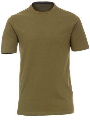REDMOND Ανδρικό λαδί κοντομάνικο T-Shirt, regular fit