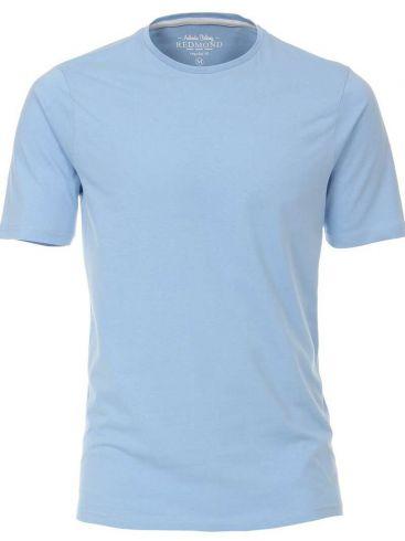 REDMOND Ανδρικό γαλάζιο κοντομάνικο T-Shirt, regular fit