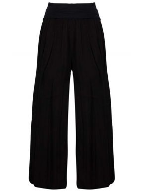 M MADE IN ITALY Γυναικεία μαύρη παντελόνα 11-9460Ο Black
