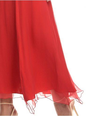 Αμάνικο μαύρο φόρεμα βισκόζης
