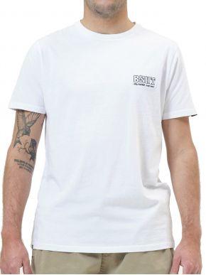 BASEHIT Ανδρικό λευκό κοντομάνικο T-Shirt 211.BM33.78 White