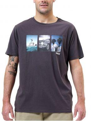 BASEHIT Ανδρικό κοντομάνικο T-Shirt 211.BM33.50 Off Black