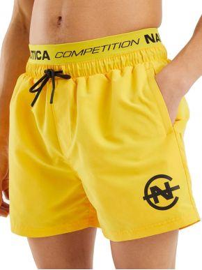 NAUTICA Ανδρική κίτρινη μαγιώ βερμούδα N7D00329 Yellow