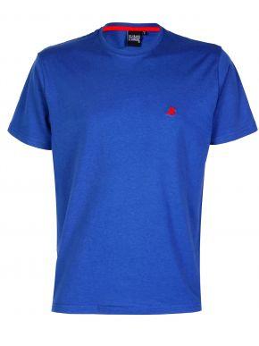 US GRAND POLO Ανδρικό μπλέ κοντομάνικο T-Shirt μπλουζάκι. UST 120 Jeans