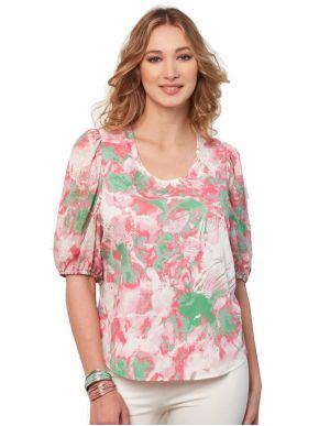 ANNA RAXEVSKY Γυναικεία εμπριμέ μπλούζα B21107