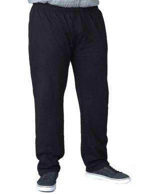 DUKE Ανδρική μαύρη καλοκαιρινή παντελόνι φόρμα D555 KS1420 RORY.