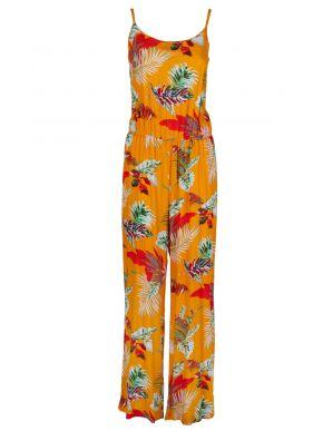 ESQUIVO Γυναικεία πολύχρωμη φλοράλ ολόσωμη φόρμα