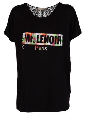 STAK WOMAN Γυναικείο μαύρο μπουζάκι T-Shirt