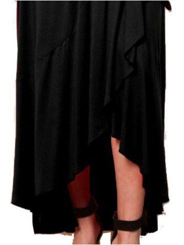 ANNA RAXEVSKY Γυναικείο λευκό ολοκέντητο μάξι φόρεμα με παγιέτες και μουσελίνα D19114 WHITE