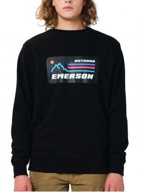 EMERSON Ανδρικό φούτερ 202.EM20.27 Black
