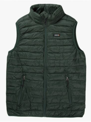 BASEHIT Ανδρικό πράσινο αμάνικο μπουφάν 202.BM10.141A NL Green