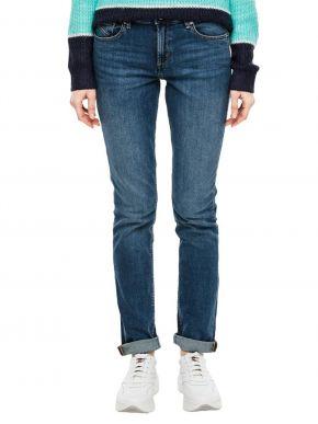 S.OLIVER Γυναικείο ελαστικό ψιλοκάβαλο skinny παντελόνι τζιν 2005663-56Ζ4