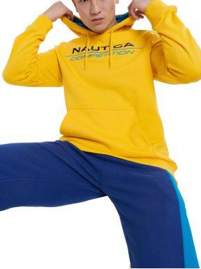 NAUTICA Competition Aνδρικό κίτρινο φούτερ N7E00016 Yellow
