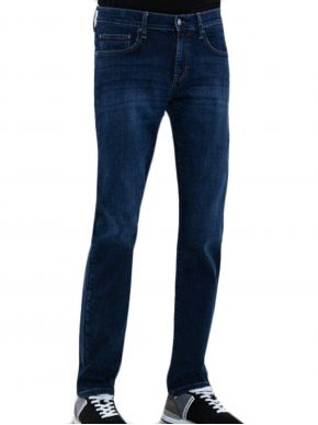 BIG STAR Ανδρικό μπλέ ελαστικό τζιν ίσιο παντελόνι