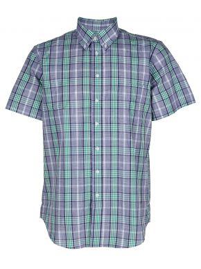 NEW YORK TAYLORS Ανδρικό πράσινο καρό μακρυμάνικο πουκάμισο