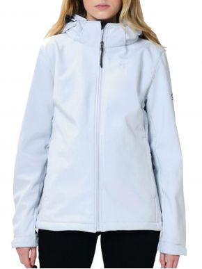 EMERSON Γυναικείο λευκό μπουφάν 212.EW11.31-BD ICE WHITE