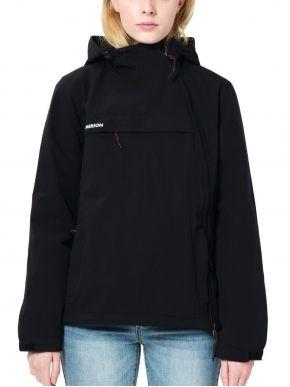 EMERSON Γυναικείο μαύρο μπουφάν, κουκούλα. 212EW10.62 Black