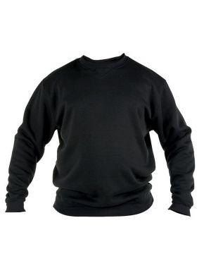 DUKE Ανδρικό μαύρο φούτερ φλίς (έως 7XL) ROCKFORD SWEAT KS1616