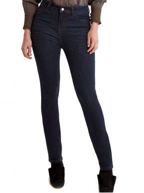 SARAH LAWRENCE Γυναικείο blue-black ελαστικό παντελόνι τζιν 2-250020