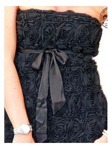 POEMS Στράπλες cocktail φόρεμα για γάμο-βάπτιση