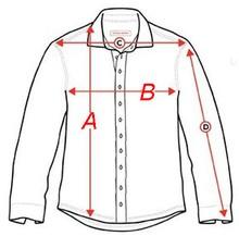 Μεγεθολόγιο για ανδρικά πουκάμισα
