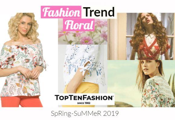 Floral: Η Τοπ Τάση για την Άνοιξη 2019!